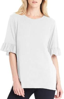 Michael Stars Ruffle Sleeve Top