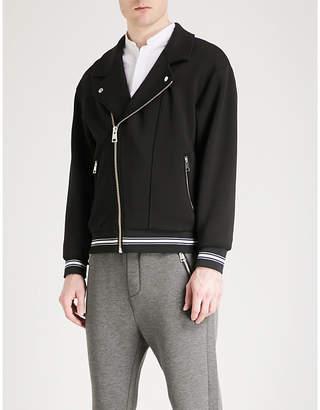 The Kooples Asymmetric jersey jacket