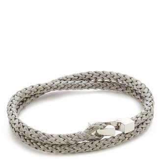 Miansai Sterling Silver Ipsum Wrap Bracelet $95 thestylecure.com