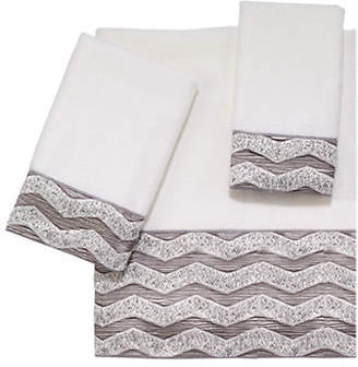 Avanti Chevron Galaxy Polyester Hand Towel