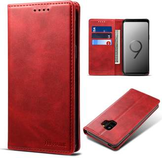 Samsung FLY HAWK S9 Smart Leather Wallet Cell Phone Card Holder Case Kickstand Protective Flip Cover