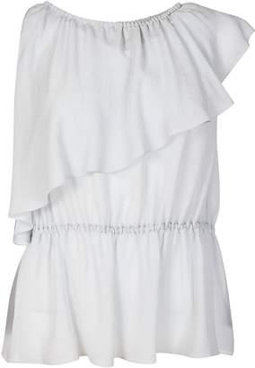M Missoni Ruffled Top Dress