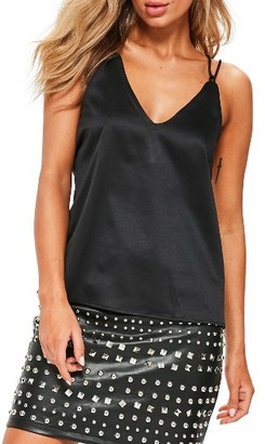 Women's Missguided Cross Back Camisole $39 thestylecure.com