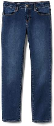 Gap Mid Rise Straight Jeans in Stretch