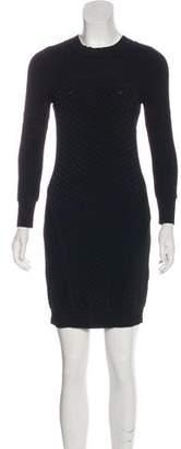 A.L.C. Textured Paneled Mini Dress