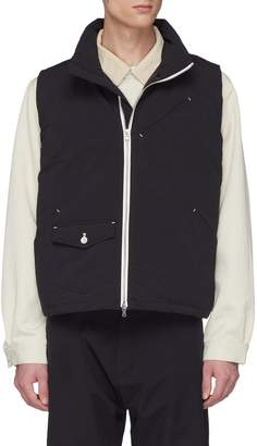 Nanamica Mix pocket down vest