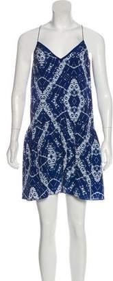 Rebecca Taylor Tie-Dye Silk Dress