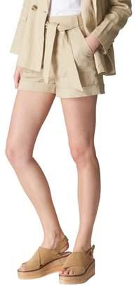 Whistles Linen Shorts