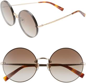 Rebecca Minkoff Gloria1 56mm Round Sunglasses