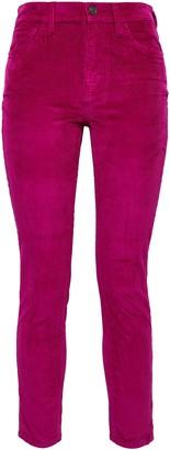 Current/Elliott Stretch Cotton And Modal-blend Corduroy Skinny Pants