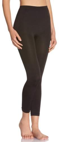 Skin'up Women's Plain or unicolor Shapewear Leggings Black Black