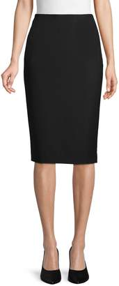 Lafayette 148 New York Slim-Fit Wool Blend Pencil Skirt