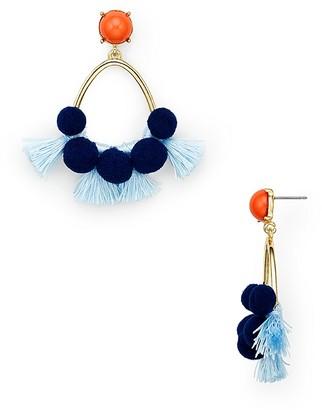 BAUBLEBAR Melina Hoop Earrings $34 thestylecure.com