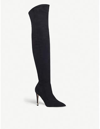 Miss KG Willow suede over-the-knee boots