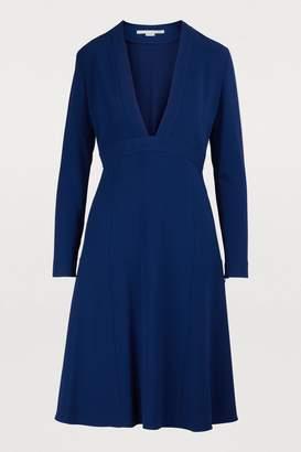 Stella McCartney V-neck mini dress