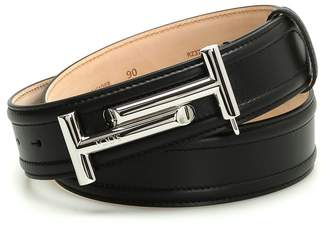 Tod's Double T Leather Belt