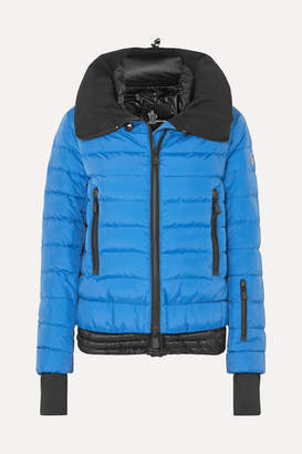 Moncler Vonne Quilted Shell Down Jacket - Blue