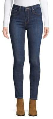 Levi's 721 High-Rise Skinny Jeans Blue Story