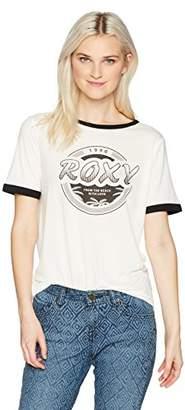 Roxy Women's Puerto Pic 1990 Ringer T-Shirt