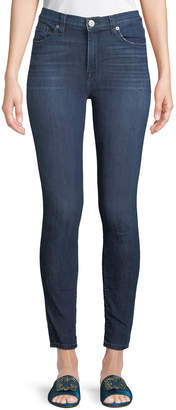 Hudson Blaire High-Waist Super-Skinny Ankle Jeans