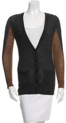 Vera Wang Wool Bi-Color Cardigan $75 thestylecure.com