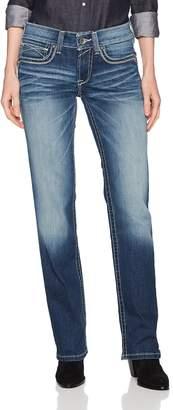 Ariat Women's R.E.A.L.. Straight Leg Jean