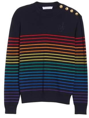 J.W.Anderson Mariniere Stripe Wool Sweater