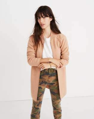 Madewell Bomber Sweater-Jacket