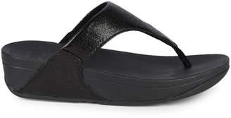 FitFlop Lulu Molten Platform Thong Sandals