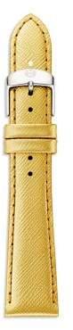 Michele Saffiano Leather Watch Strap/18MM