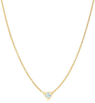 LeVian Suzy Diamonds Suzy 14K 0.25 Ct. Diamond Solitaire Necklace