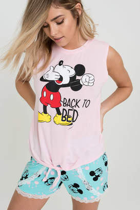 Ardene Mickey PJ Set