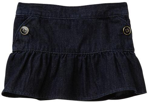 Gap Denim button skirt