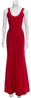 Herve Leger Signature Bandage Gown w/ Tags