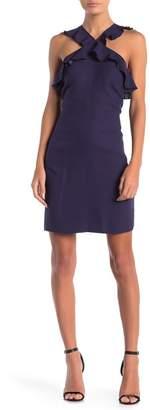 Cynthia Steffe CeCe by Elsie Open Back Ruffle Strap Dress