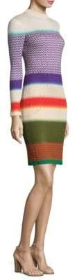Missoni Silk-Blend Colorblock Dress