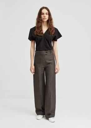 Aspesi Linen Wide Leg Trousers