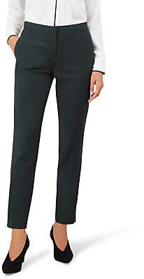 Hobbs Nadia Skinny Trousers, Forest Green
