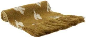 Courreges Mohair-blend scarf