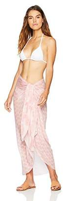 Oasis Wild Beachwear Women's Beachwear Swimwear Block Printed Short Sarong Wrap