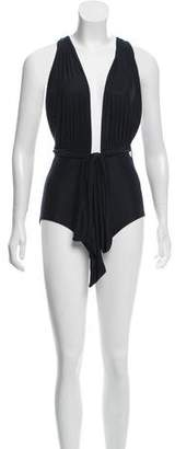 Lenny Niemeyer Gathered One-Piece Swimsuit w/ Tags