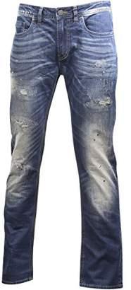 Buffalo David Bitton Men's Max-x Skinny Fit Tinted Wash Fashion Denim Pant