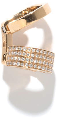 Repossi Single Berbere Double-Cuff Earring with Diamonds, 0.22tdcw