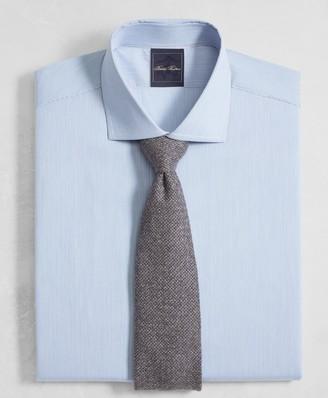 Brooks Brothers Golden Fleece Regent Fitted Dress Shirt, English Collar End-on-End Frame Stripe
