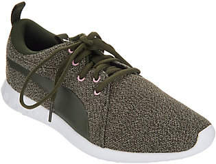 Puma Knit Lace-Up Sneakers - Carson 2 Knit