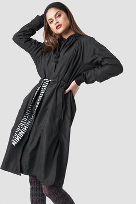 NA-KD Na Kd N Branded Belt Jacket Black
