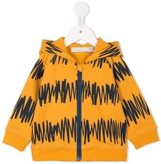 Stella McCartney printed zip hoodie