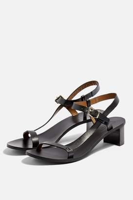 9c2ab9542 Topshop Womens **Wide Fit Venus Asymmetric Sandals - Black
