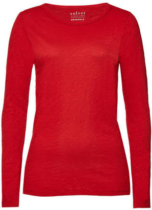 Velvet Slub Cotton Lizzie T-Shirt