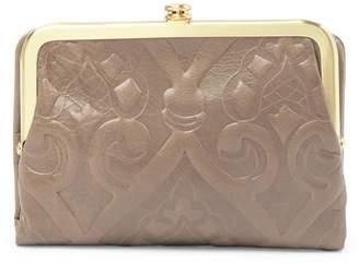 Hobo Amerie Embossed Leather Wallet